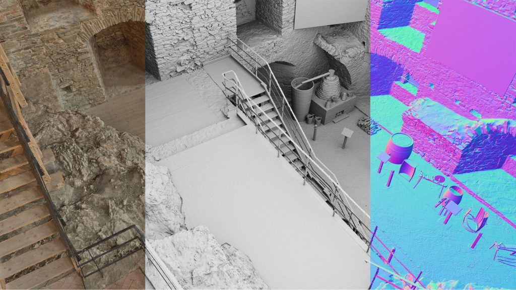 Create a 3D model using images, laser scans and UAV. Without any limitations.