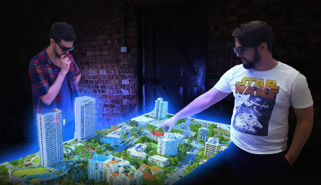 The World's First Multi-User EUCLIDEON HOLOGRAM TABLE